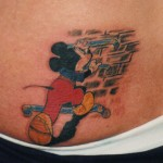 Micky Maus Tattoo